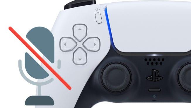 PS5 DualSense Mute Stummschalten