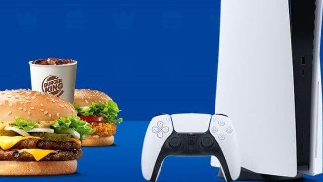 PS5 Gewinnspiel Burger King Deutschland