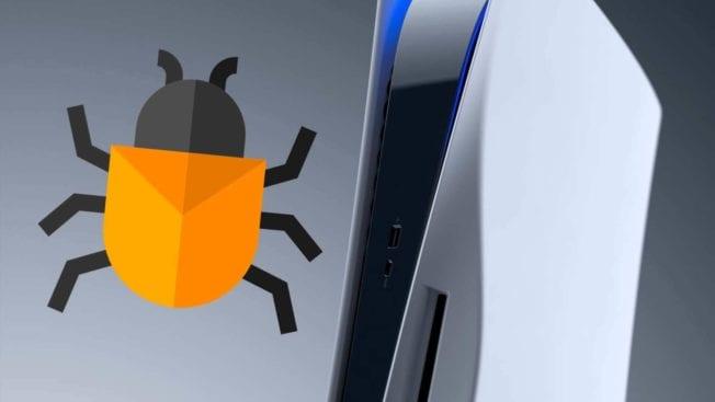 PS5 Bug
