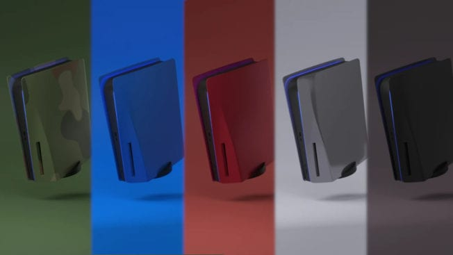 PS5 Faceplates