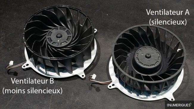 PS5 - Unterschiedliche Lüfter