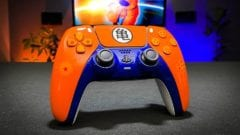 LaZa-Mods PS5-Controller im Dragon Ball Z-Design