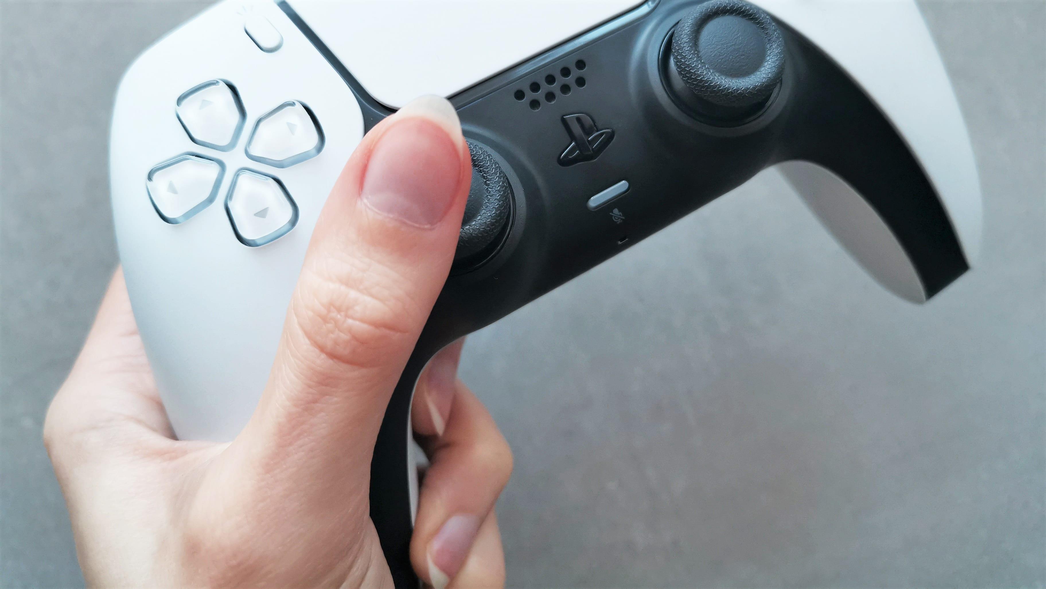 PS5 Controller Ergonomie