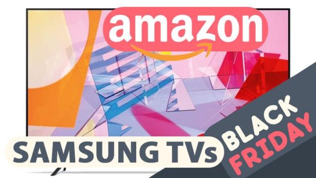 Amazon Black Friday Samsung TV QLED