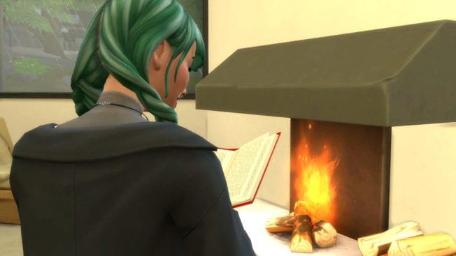 Die Sims 4 Ab ins Schneeparadies Kamin