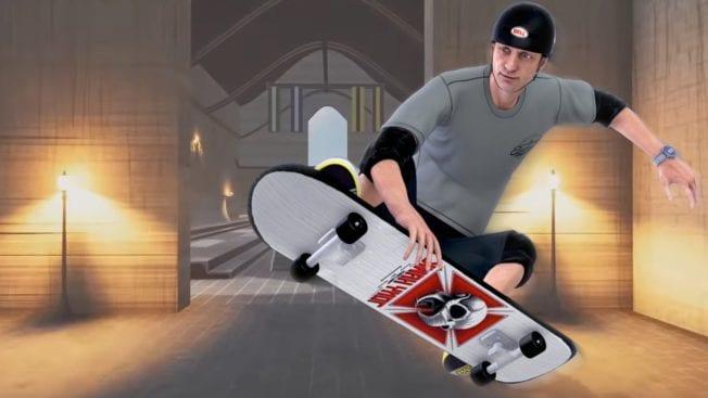 Tony Hawk's Pro Skater Harry Potter Hogwarts