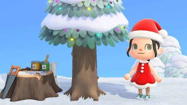 Animal Crossing New Horizons Baumschmuck Weihnachtskugeln