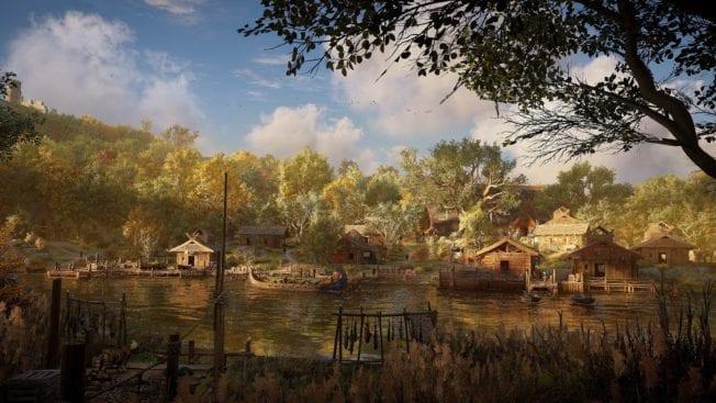 Assassin's Creed Valhalla Siedlung Bau Häuser