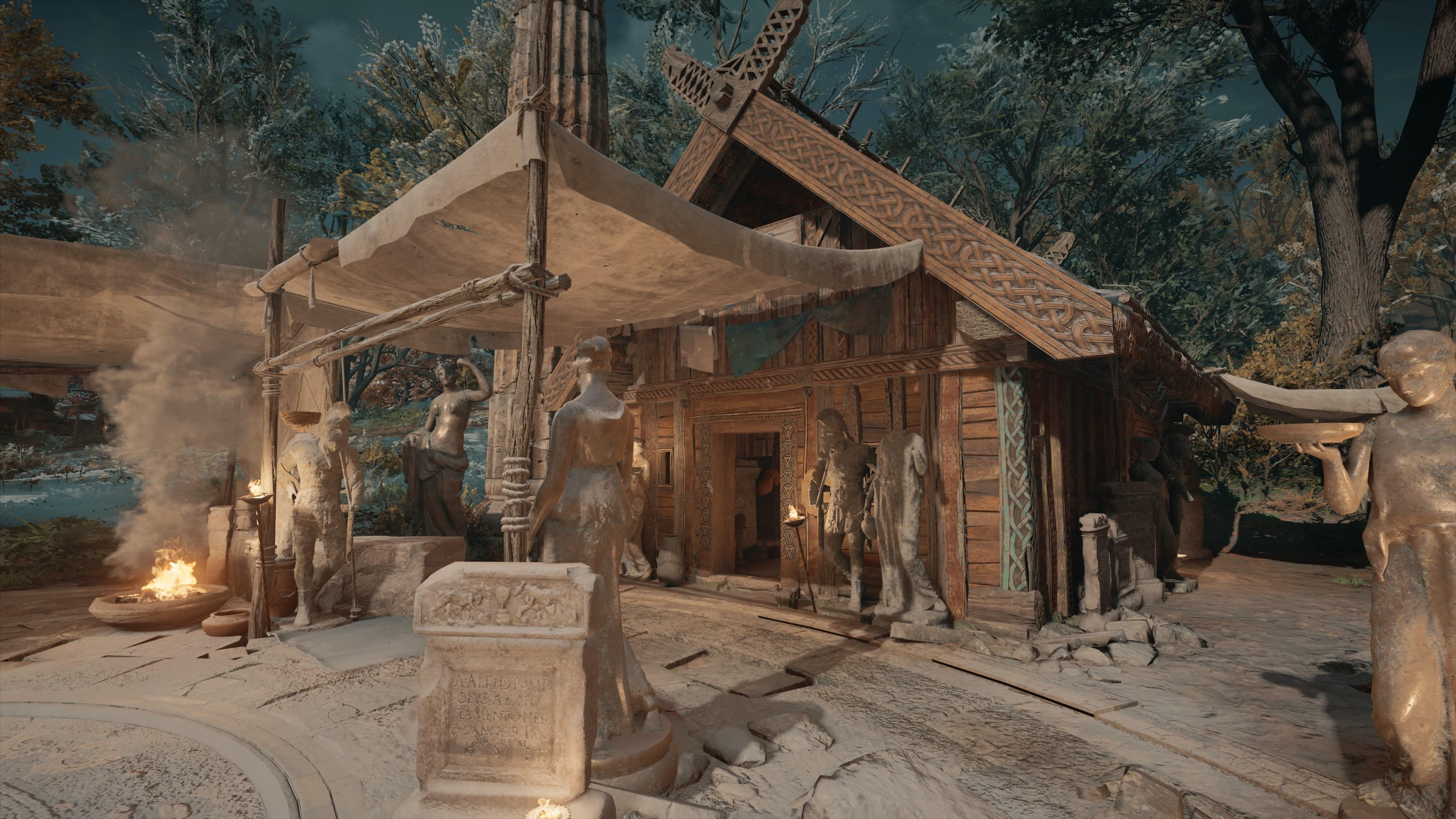 Assassin's Creed Valhalla Museum bauen