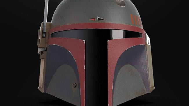Boba Fett-Helm Re-Armored