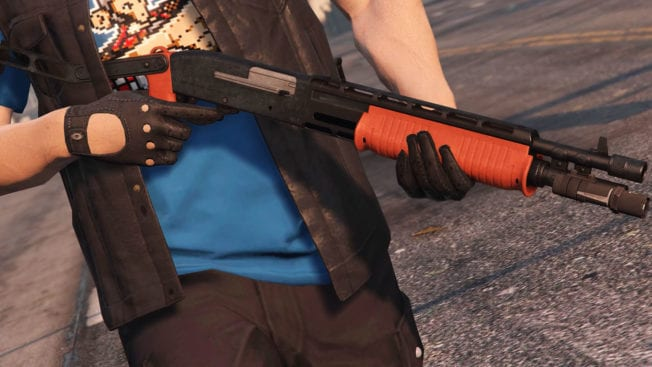 GTA Online - Military Rifle