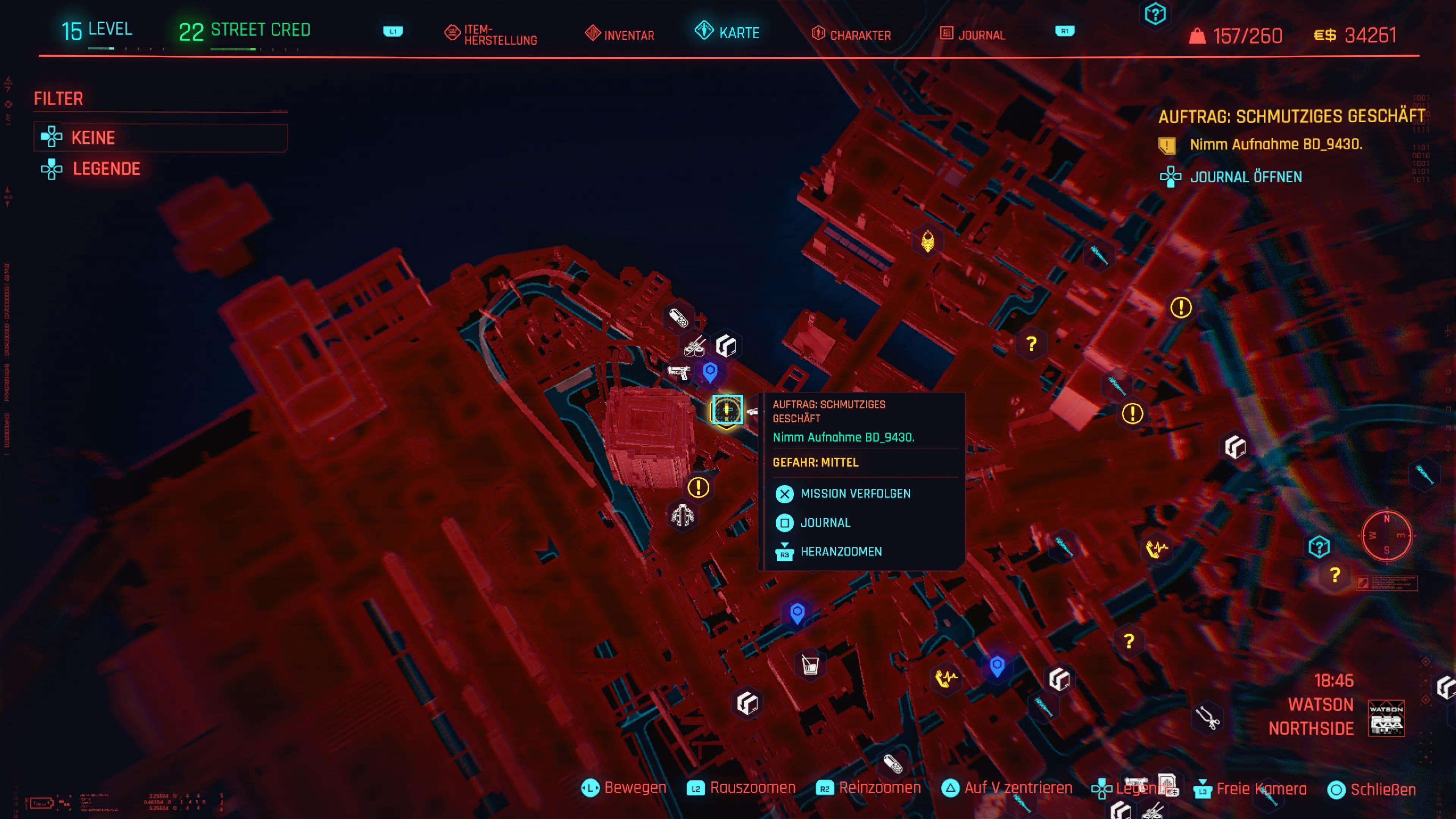 Cyberpunk 2077 - Auftrag: Schmutziges Geschäft