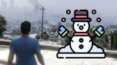 GTA Online - Schnee Weihnachten 2020