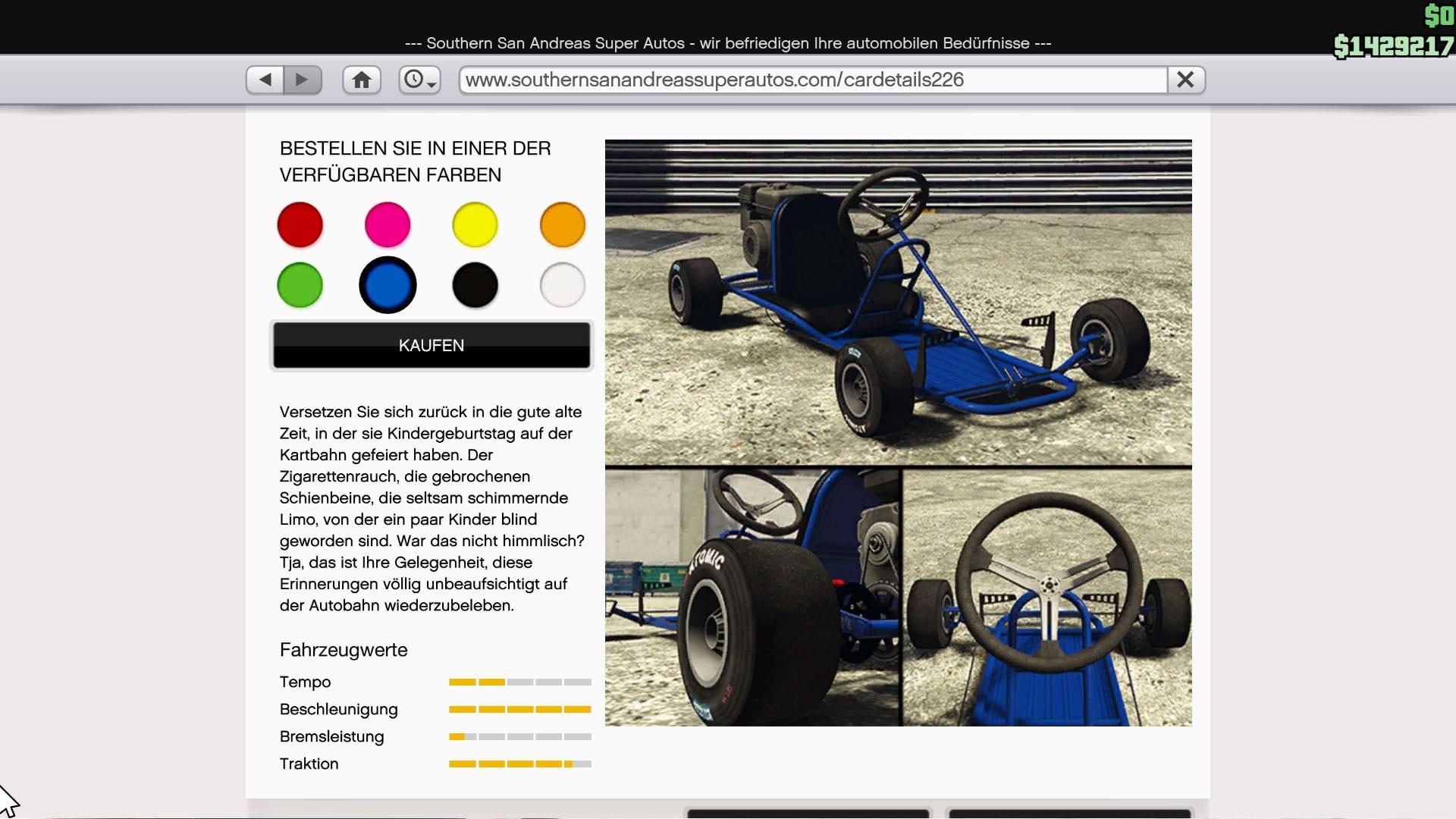 GTA Online - Dinka Veto Classic