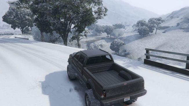 GTA Online - Schnee 2020