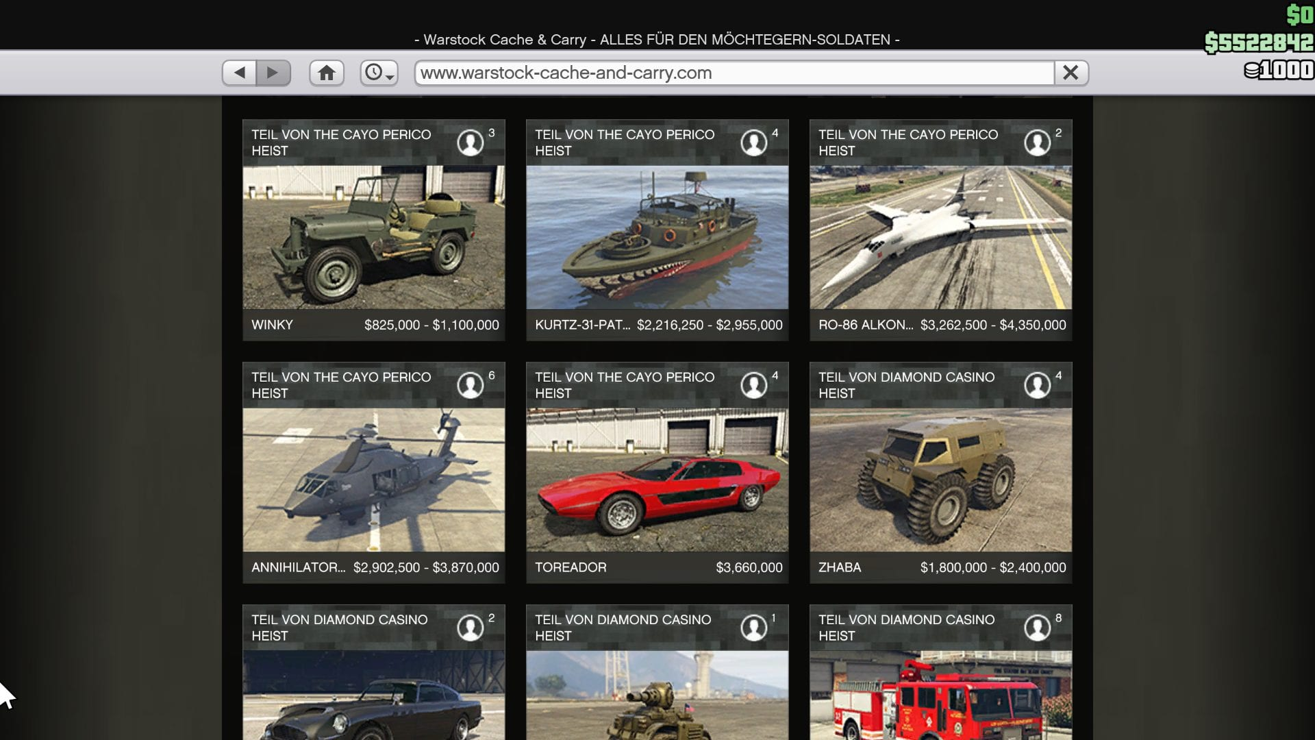 GTA Online - Warstock Cache and Carry