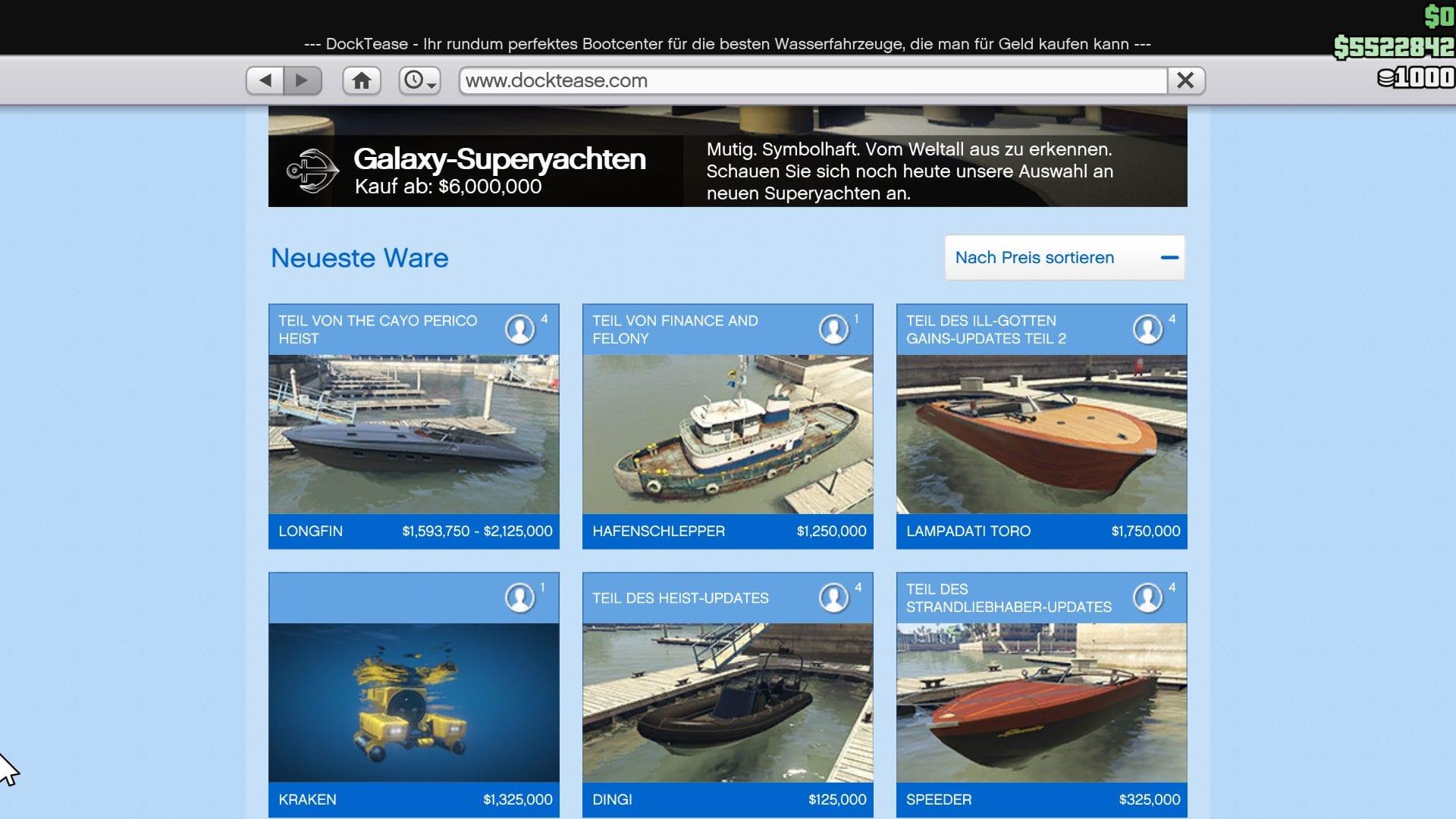 GTA Online - Docktease