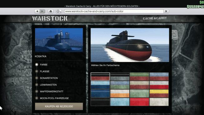 GTA Online - U-Boot