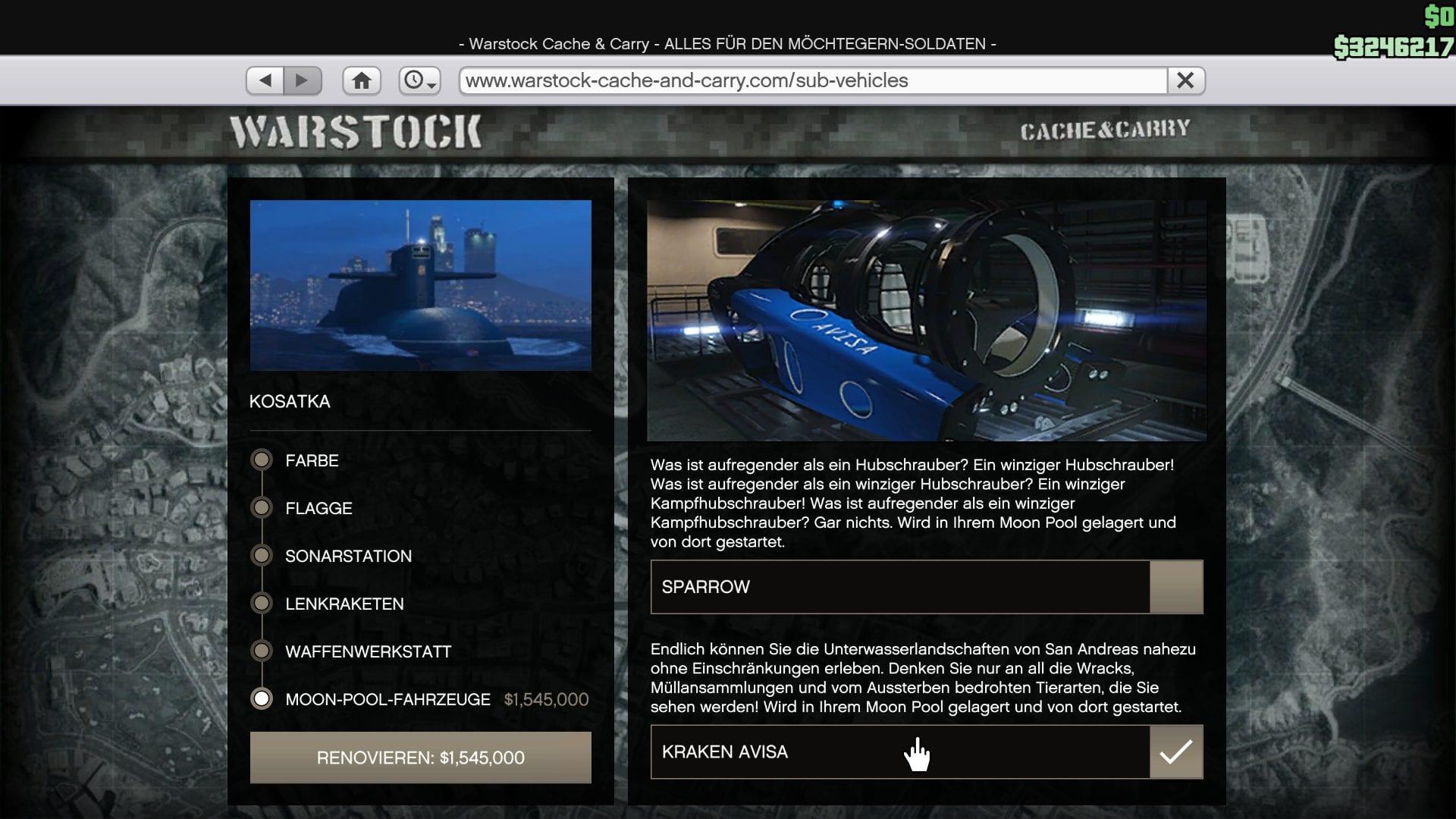 GTA Online - Kraken Avisa