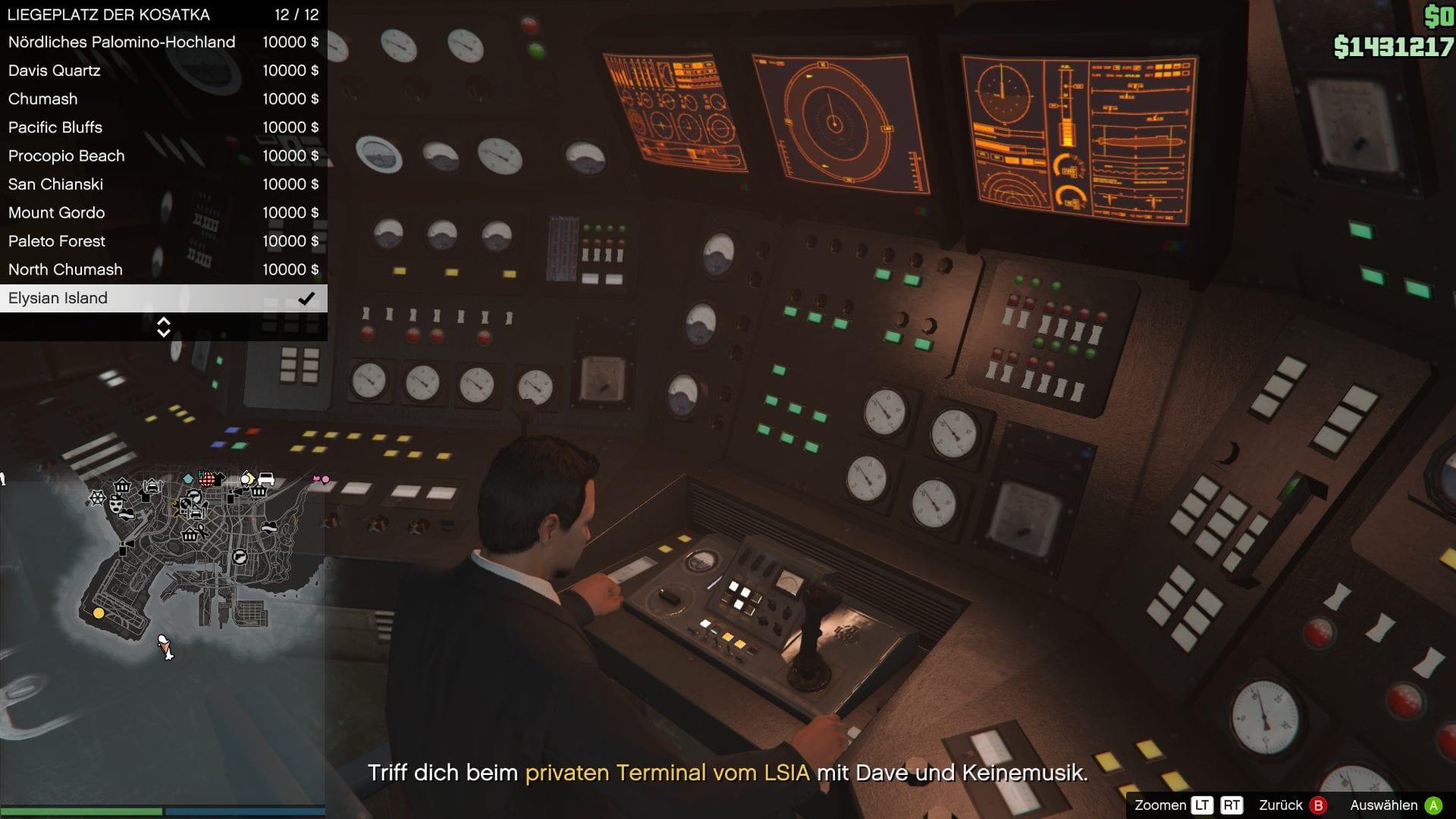 GTA Online - U-Boot Schnellreise