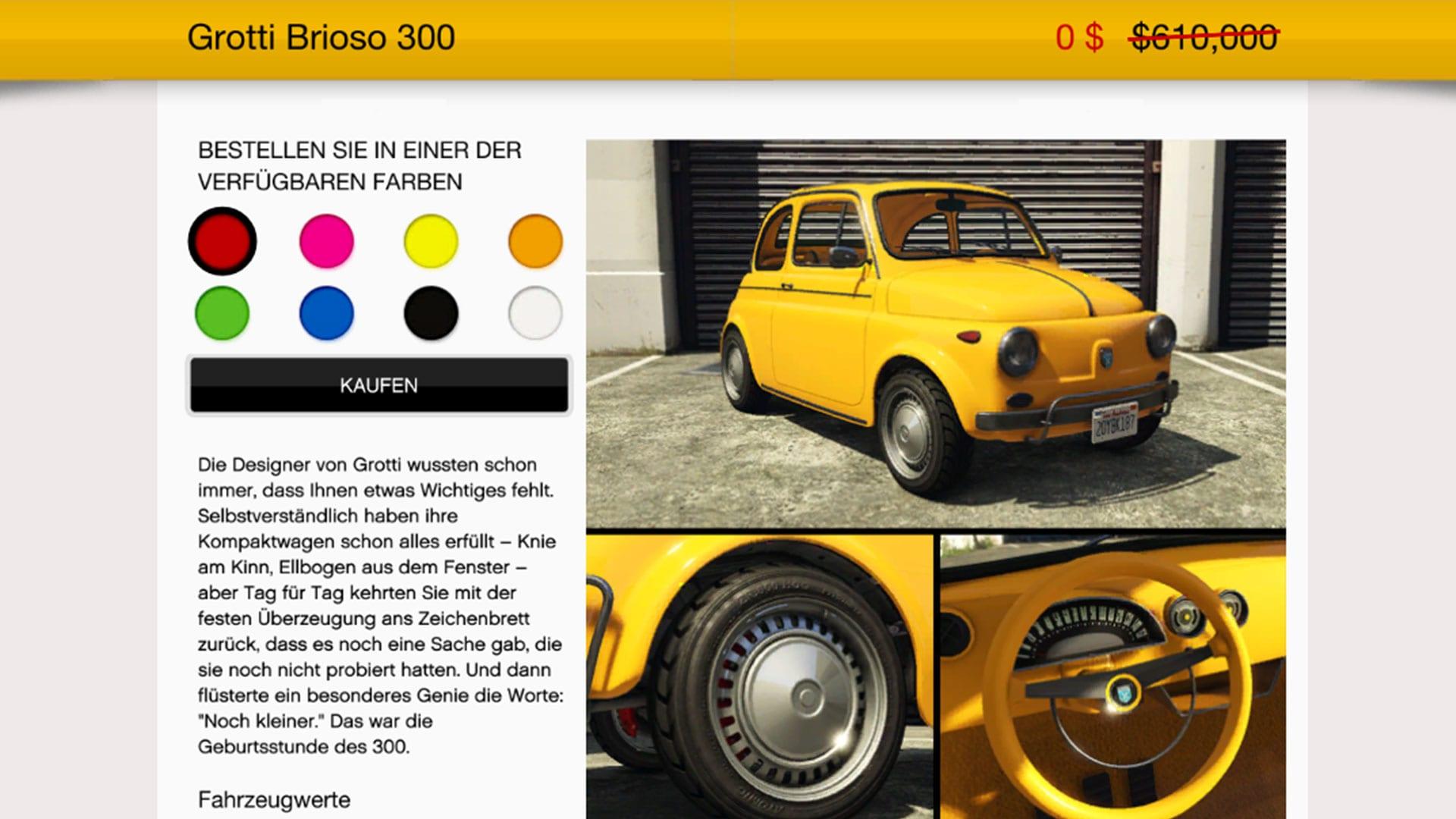 GTA Online - Grotti Brioso 300