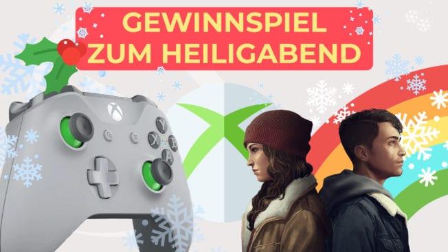 Gewinnspiel Heiligabend Microsoft Fanpaket Xbox