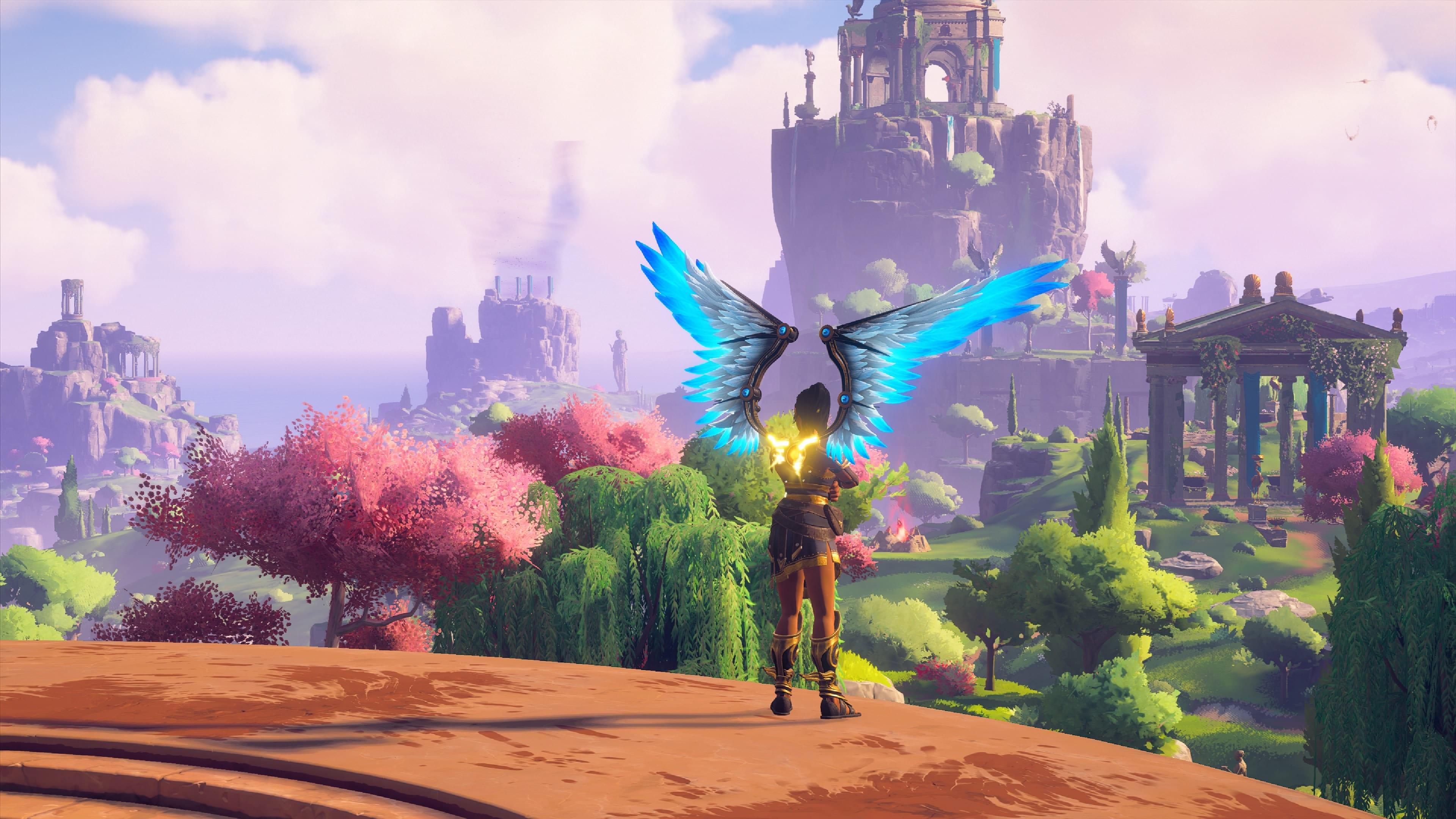 Immortals Fenyx Rising Spielwelt