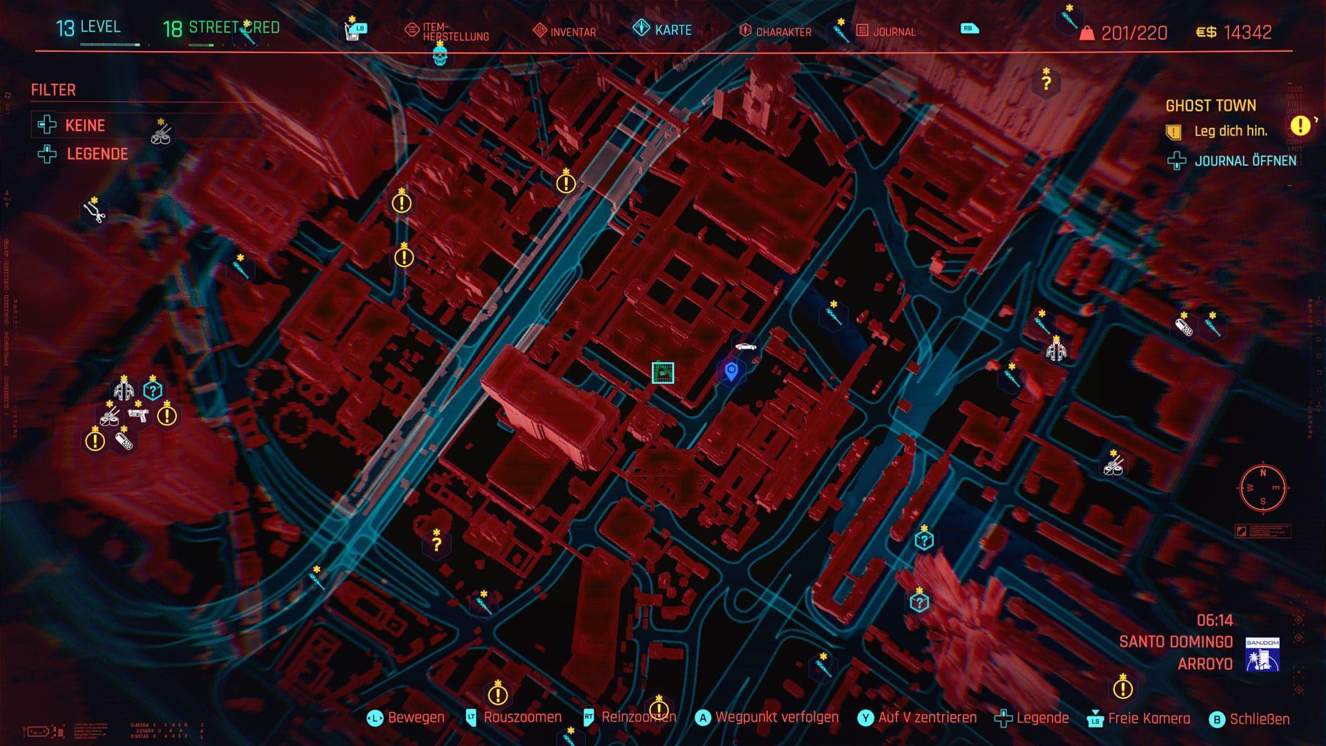Cyberpunk 2077 - Fundort Katzenfutter