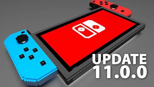Nintendo Switch-Update 11.0.0