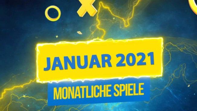 PS Plus Januar 2021 alle neuen Spiele