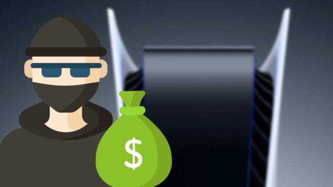 PS5 - Diebstahl