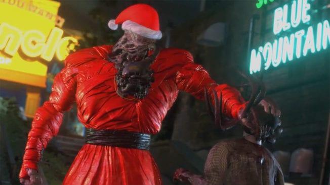Resident Evil 3 - Nemesis als Weihnachtsmann