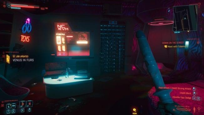 Cyberpunk 2077 - Dildos - Waffe 2