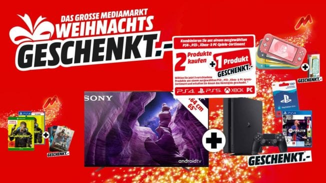 MediaMarkt Aktion 2 für 1 Geschenk