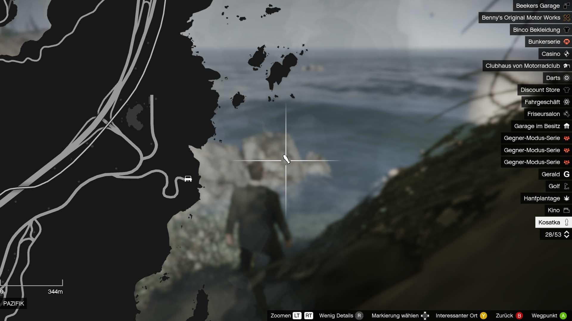 U-Boot Location in GTA Online