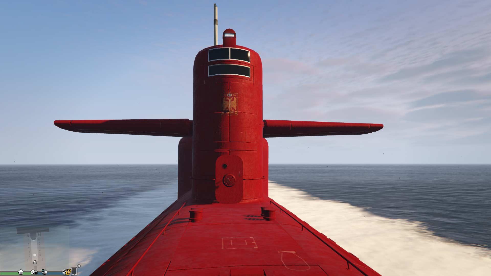 U-Boot betreten - GTA Online