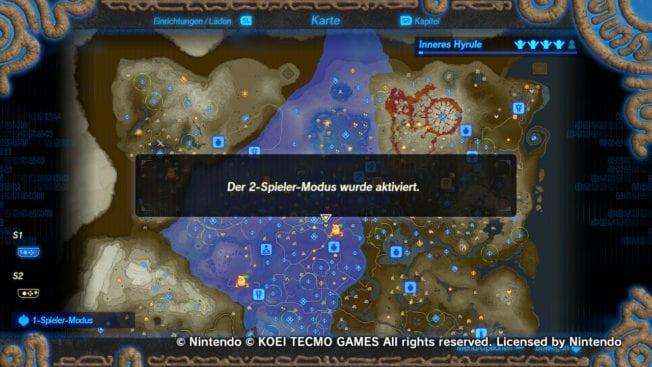 Zelda - Hyrule Warriors Zeit der Verheerung - Koop-Modus aktivieren - zu zweit spielen!