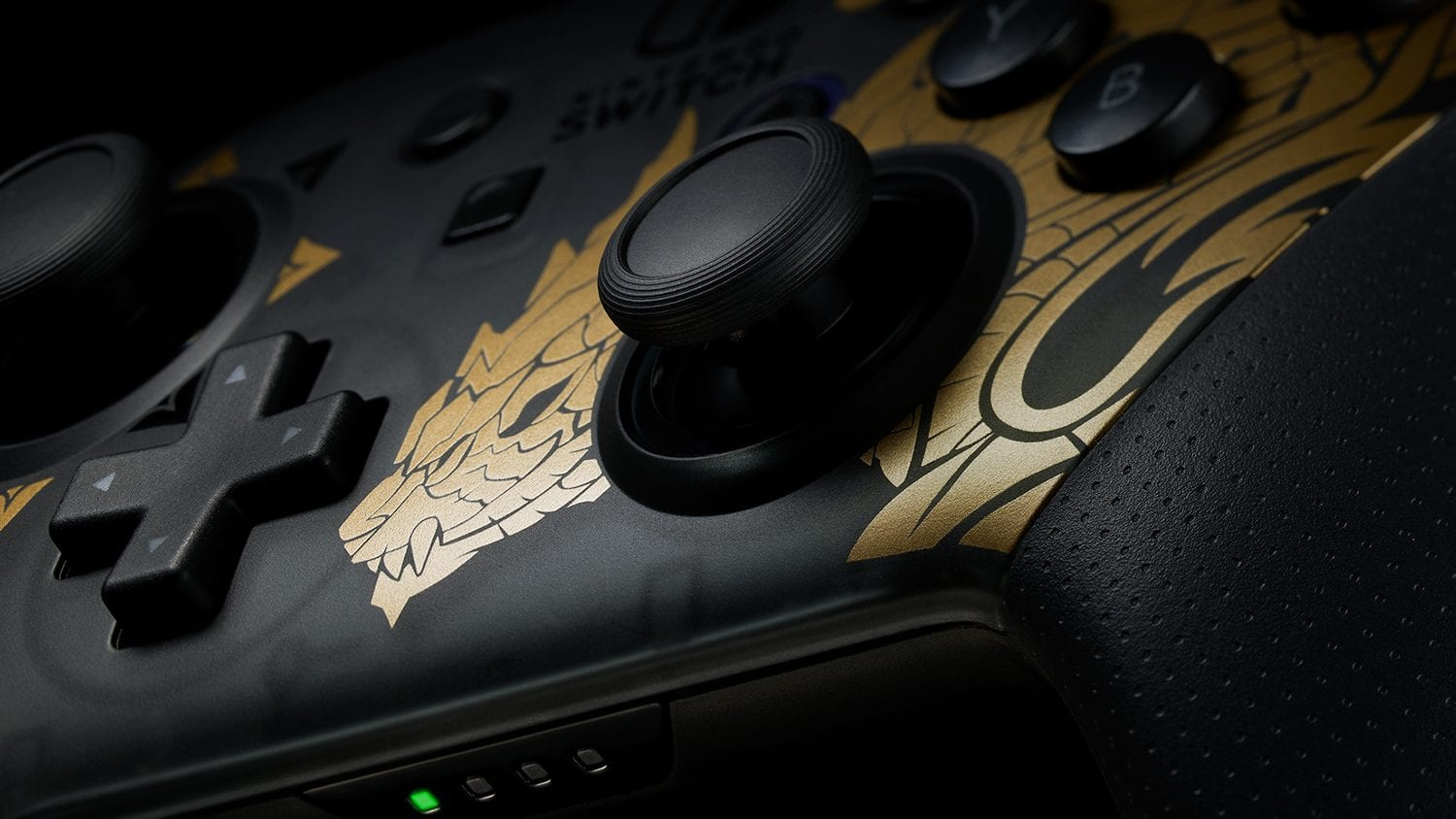 Monster Hunter Rise Switch Pro-Controller