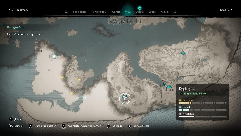 Assassins Creed Valhalla Guide: Alle elf legendären Tiere - Lösung