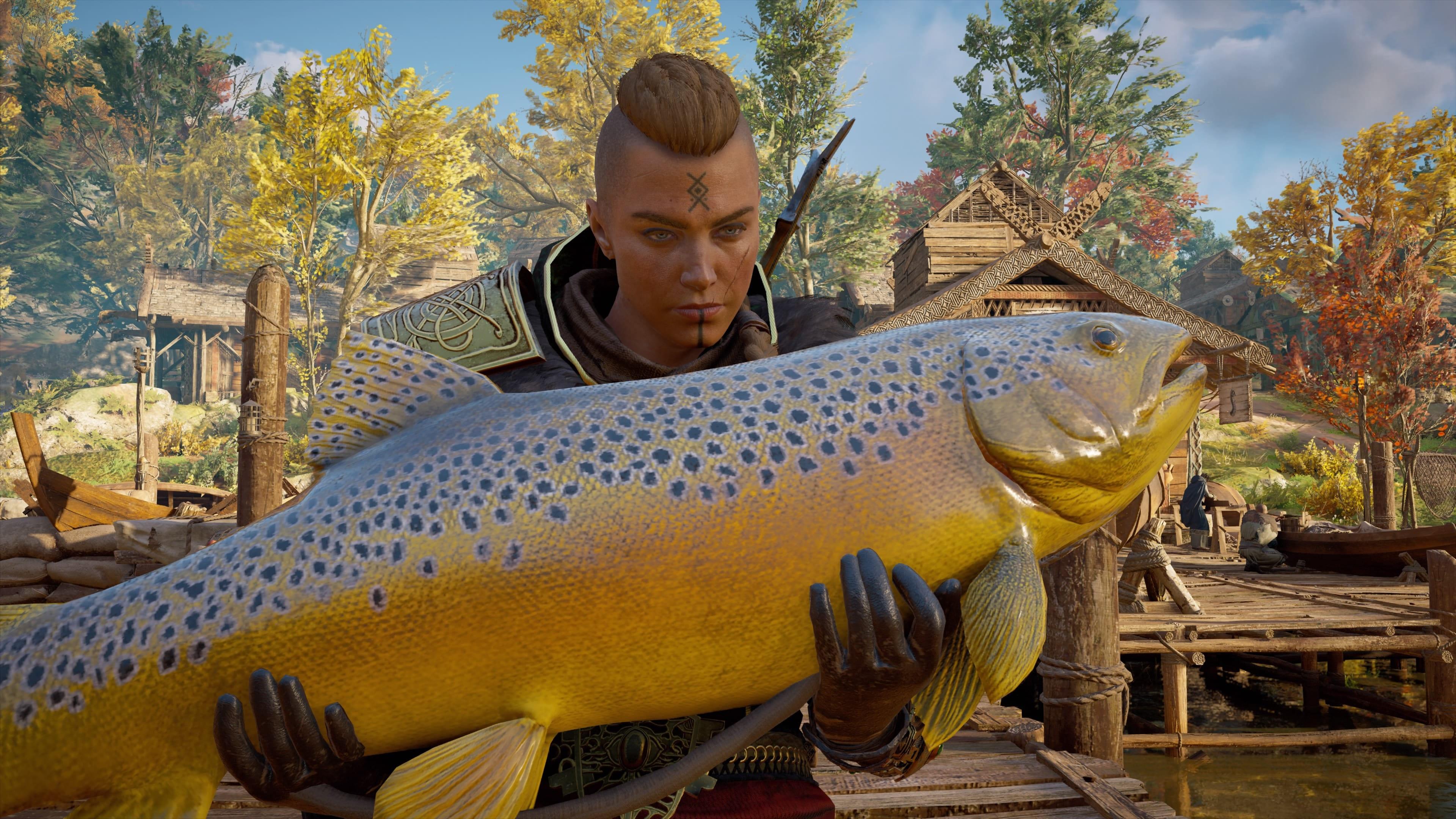 Assassin's Creed Valhalla Fische fangen