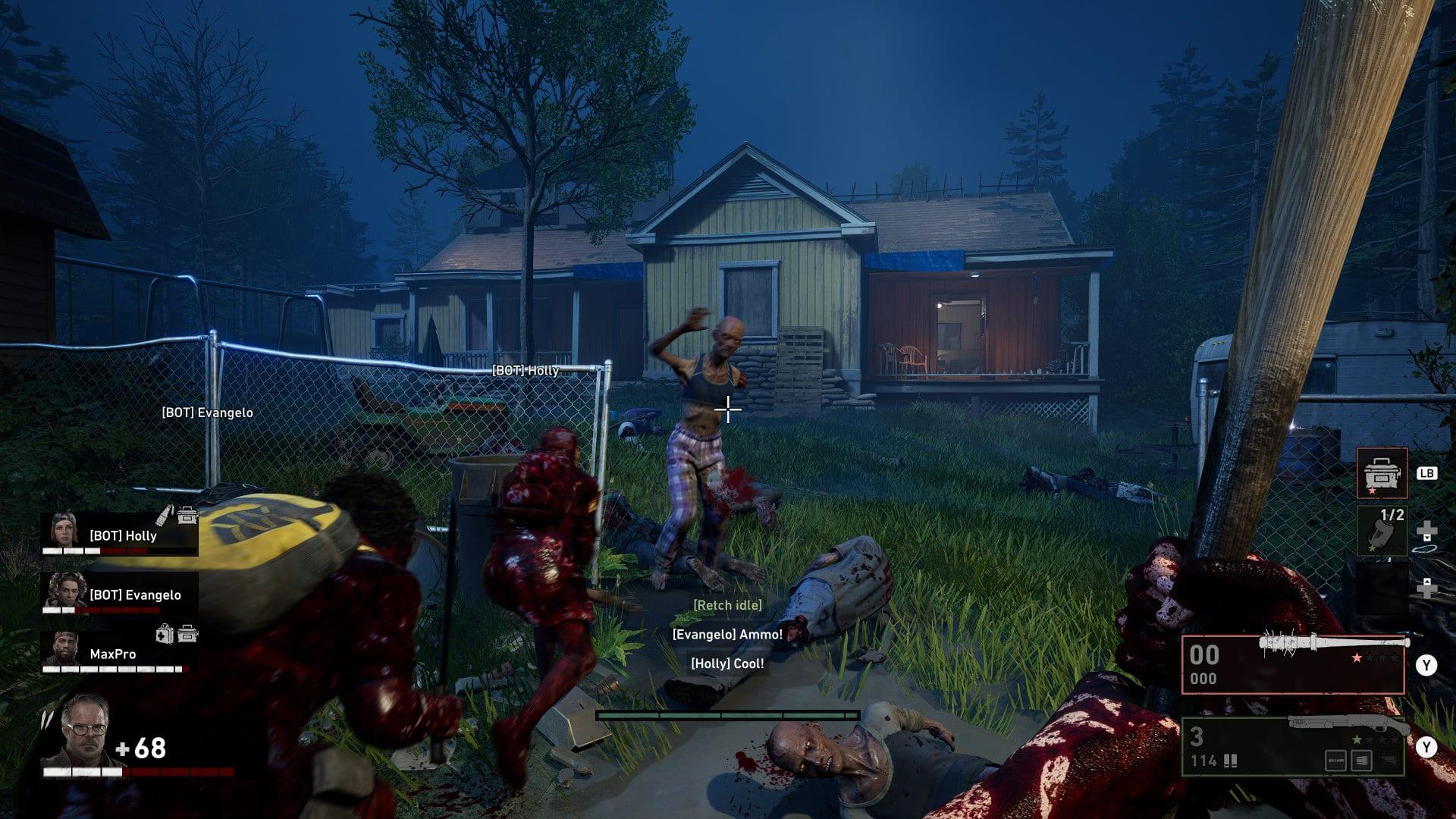 Back 4 Blood - Preview-Bilder (Waffen und Zombies)