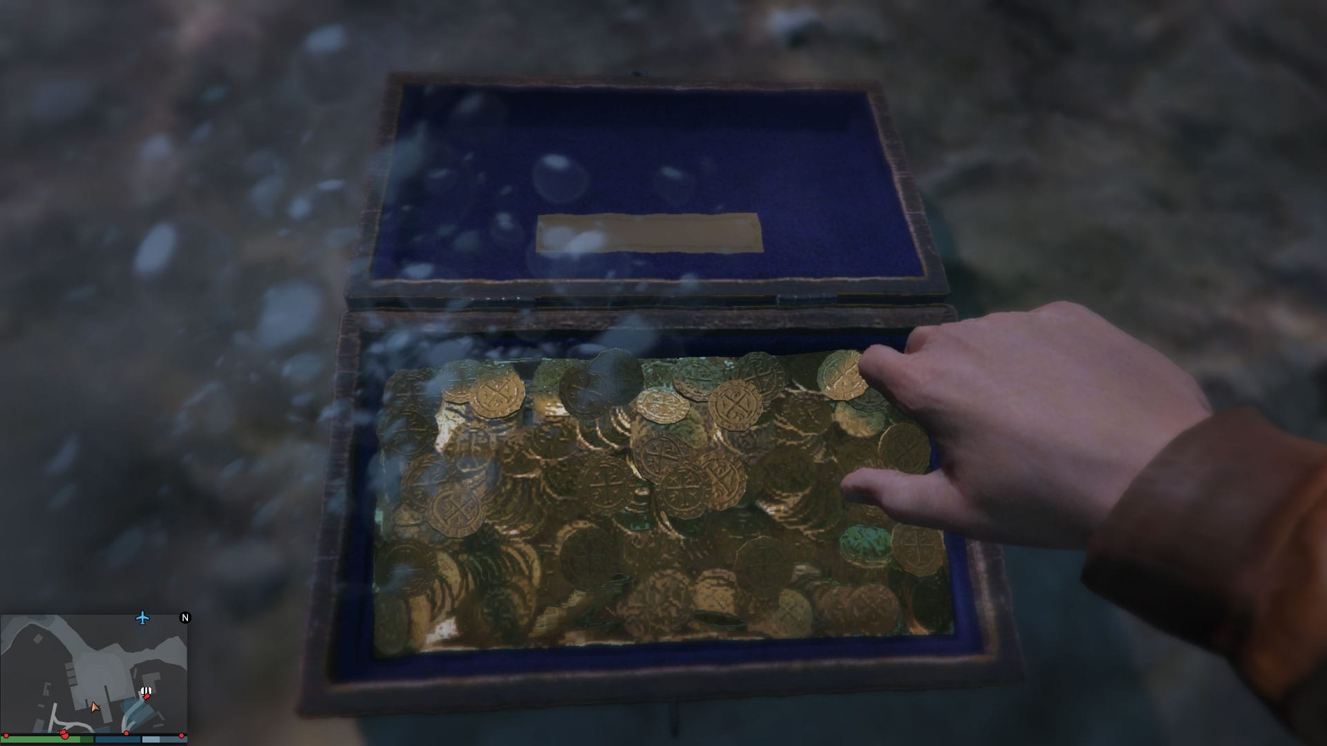 GTA Online - Treasure Chests