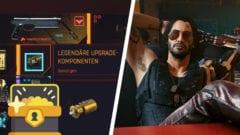 Cyberpunk 2077 - Legendäre Komponenten und Waffen