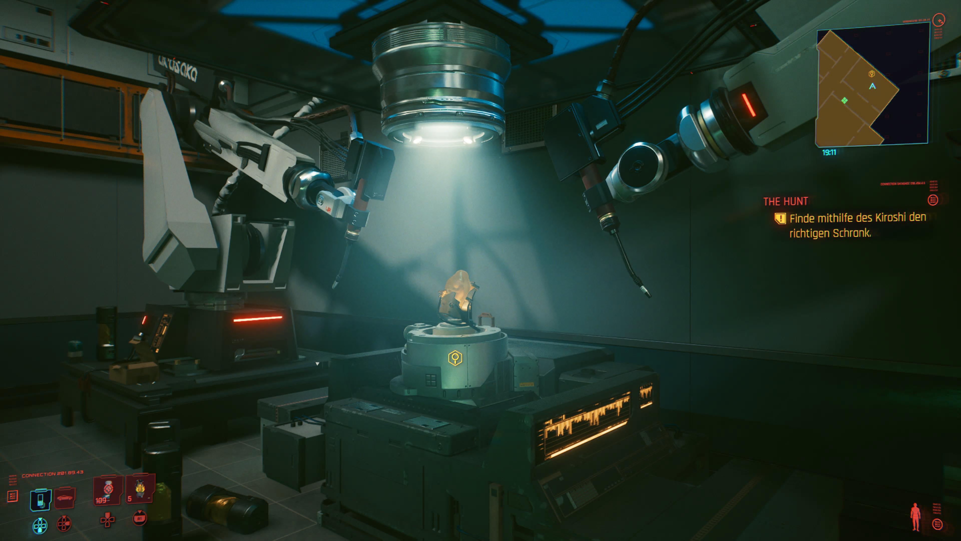 BB in Cyberpunk 2077 finden aus Death Stranding