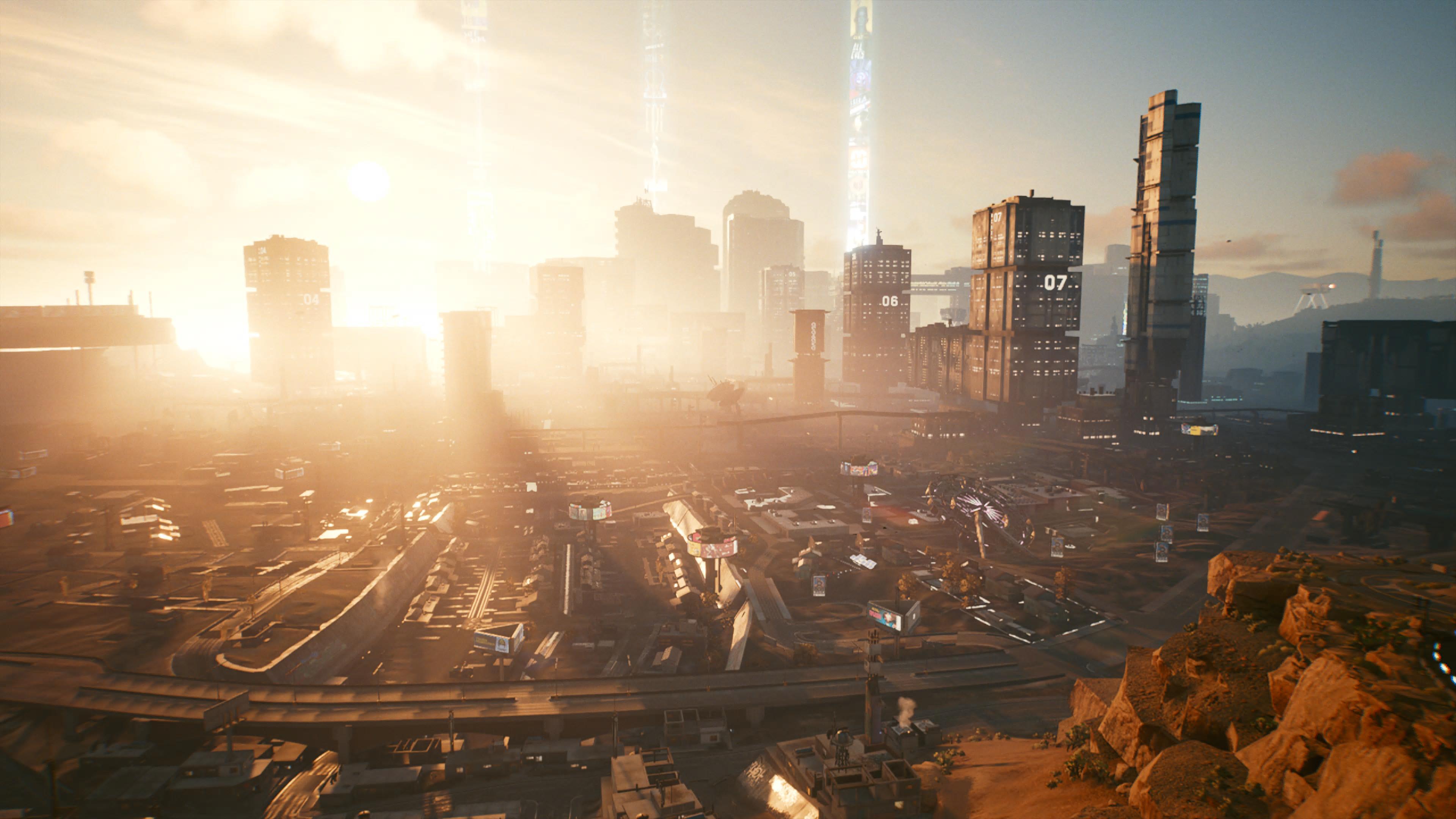 Cyberpunk 2077 - Night City (Ende)