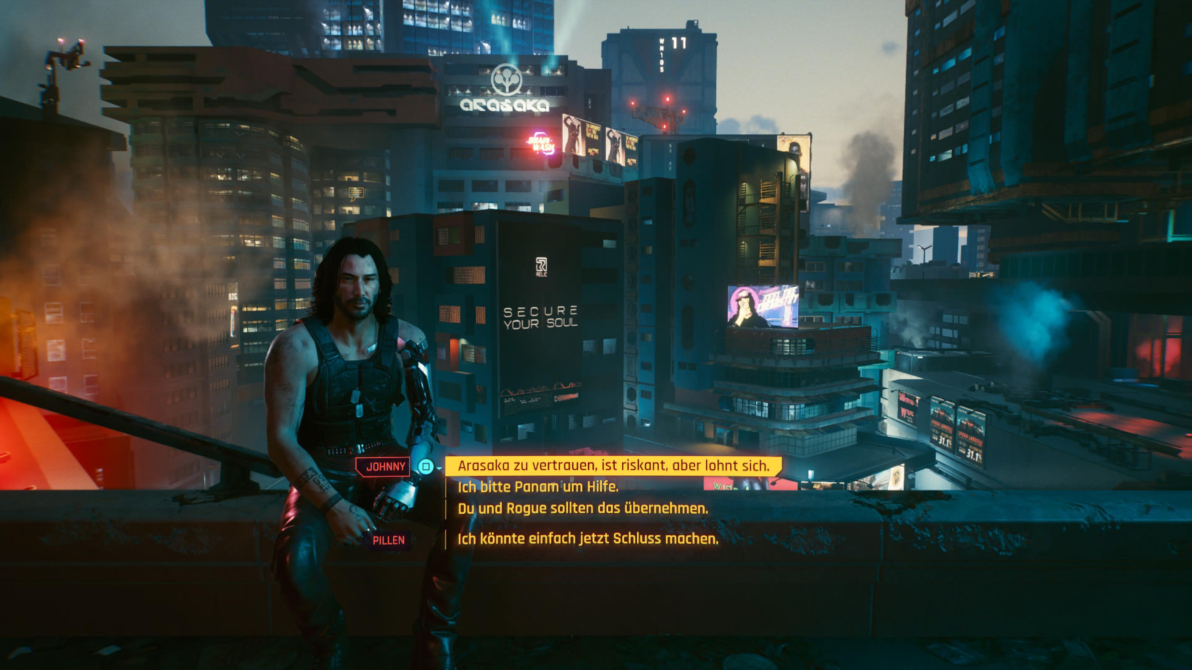 Alle Enden in Cyberpunk 2077 - ihr trefft die Wahl