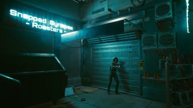 Cyberpunk 2077 - Geheimer Raum in Cyberpunk 2077