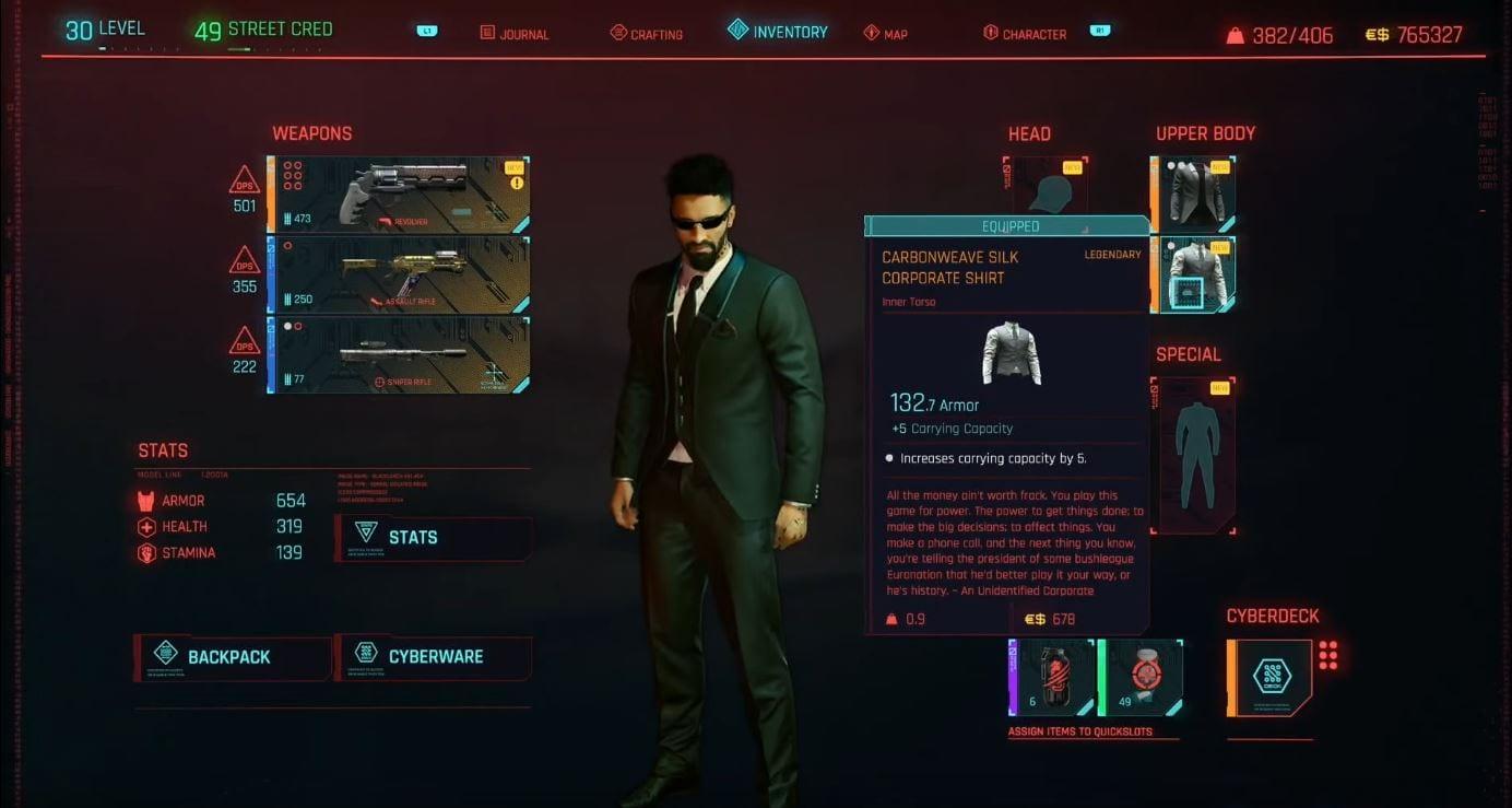Cyberpunk 2077: Legendäres Konzerner-Outfit - Guide (Lösung)