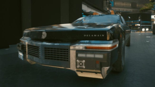 Delamain in Cyberpunk 2077