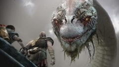 God of War Kratos World Serpent